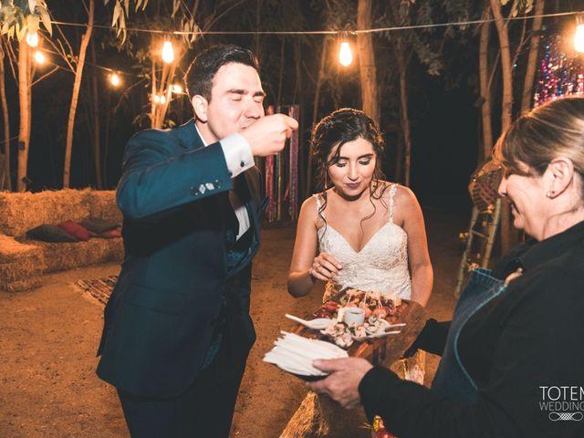 El matrimonio de Francisco  y Karime  en El Monte, Talagante 135