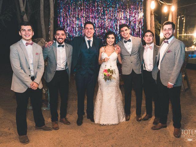 El matrimonio de Francisco  y Karime  en El Monte, Talagante 142