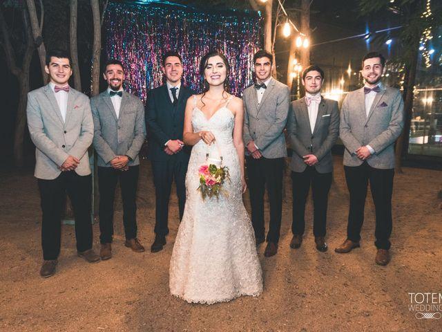El matrimonio de Francisco  y Karime  en El Monte, Talagante 143