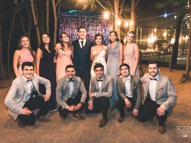 El matrimonio de Francisco  y Karime  en El Monte, Talagante 145