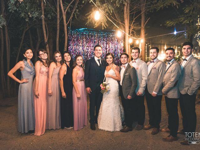 El matrimonio de Francisco  y Karime  en El Monte, Talagante 146