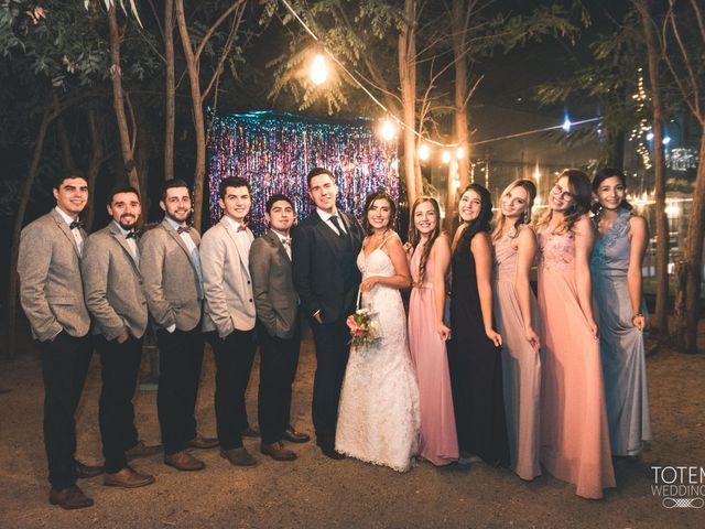 El matrimonio de Francisco  y Karime  en El Monte, Talagante 147