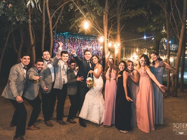 El matrimonio de Francisco  y Karime  en El Monte, Talagante 148