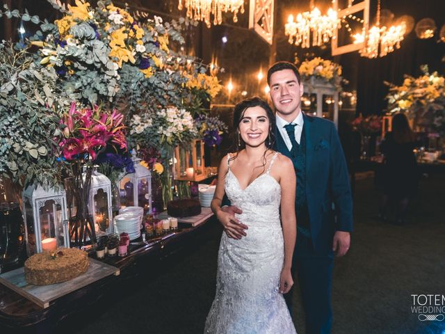El matrimonio de Francisco  y Karime  en El Monte, Talagante 161