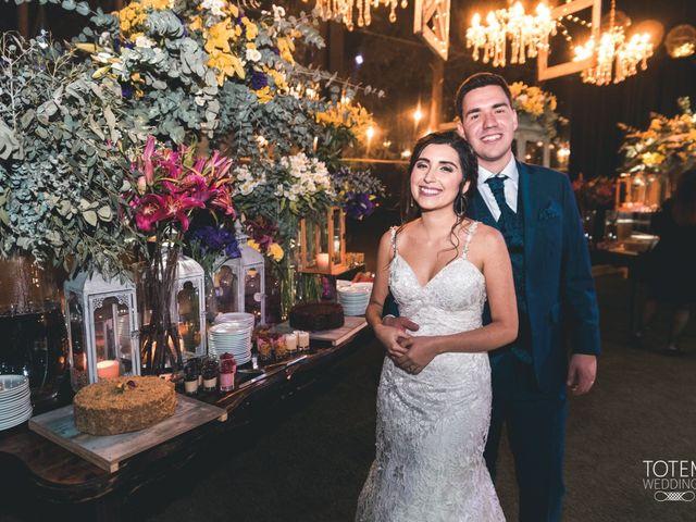 El matrimonio de Francisco  y Karime  en El Monte, Talagante 162