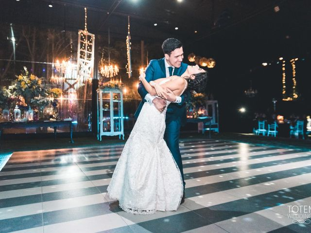 El matrimonio de Francisco  y Karime  en El Monte, Talagante 180