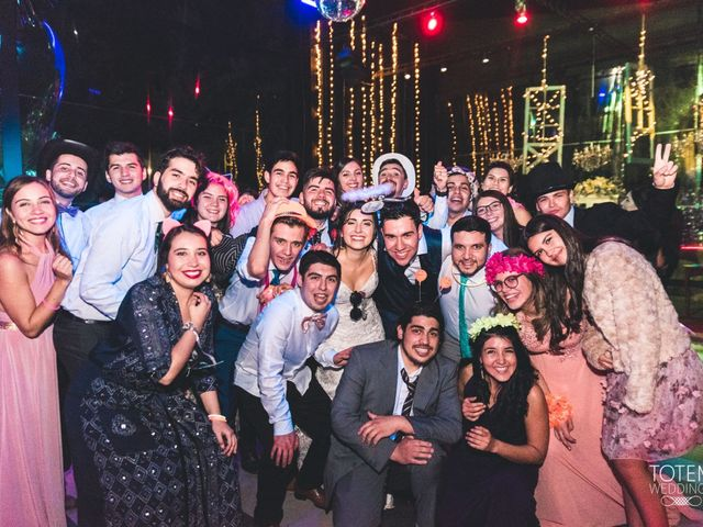 El matrimonio de Francisco  y Karime  en El Monte, Talagante 199