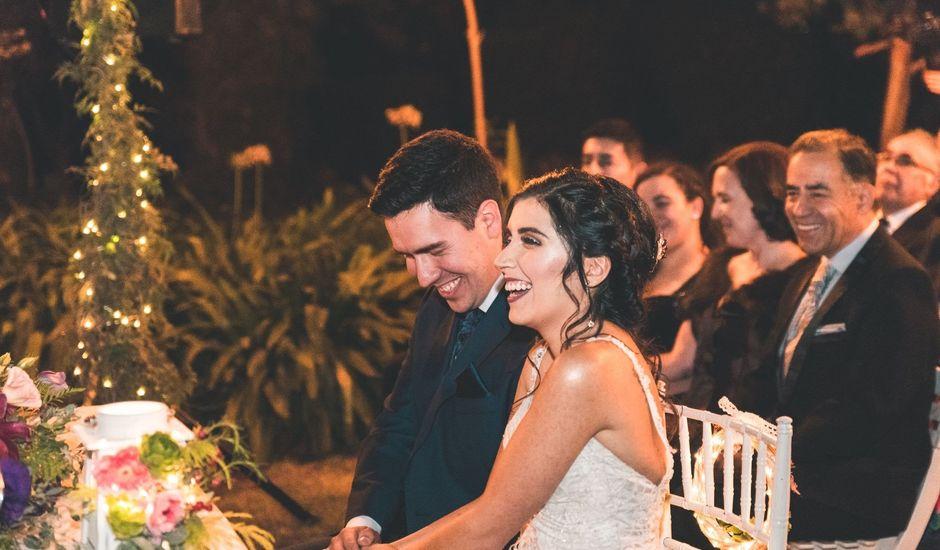 El matrimonio de Francisco  y Karime  en El Monte, Talagante