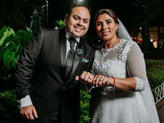 El matrimonio de Carolina y Joel