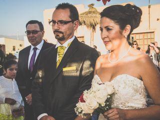 El matrimonio de Angélica y Alex