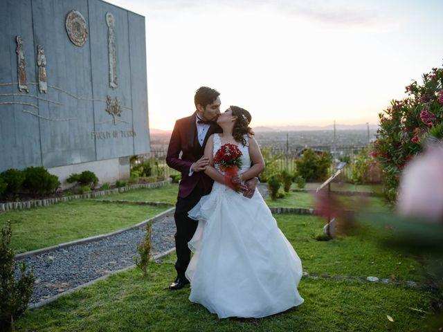 El matrimonio de Karina y Christopher