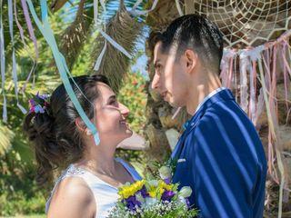 El matrimonio de Andrea y Aarón