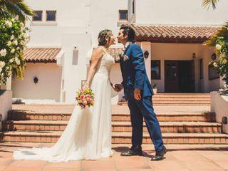 El matrimonio de Daniela y Claudio