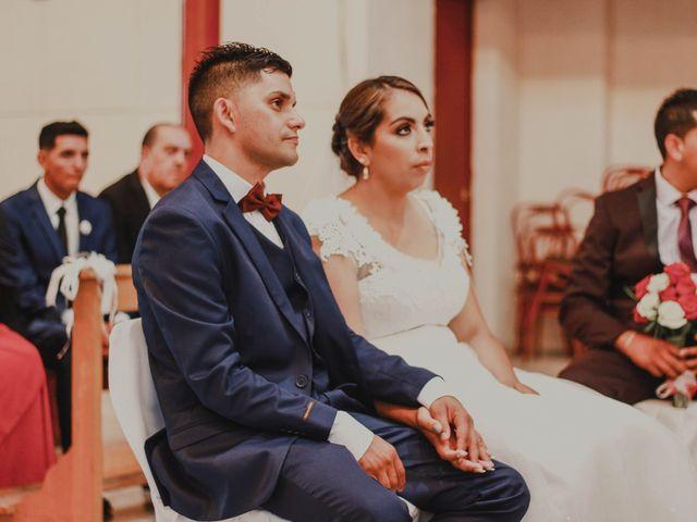 El matrimonio de Tamara y Juan