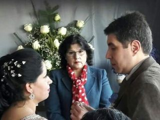 El matrimonio de Erika y Gabriel 1