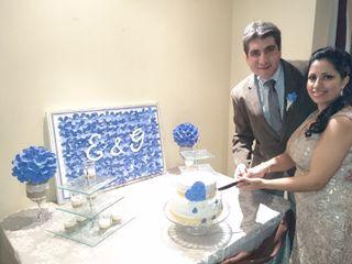 El matrimonio de Erika y Gabriel