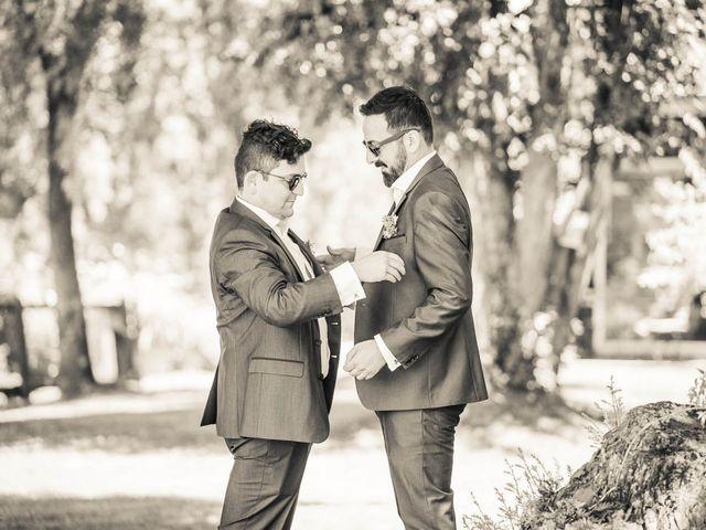 El matrimonio de René y Jorge