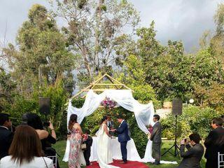 El matrimonio de Marjorie y David  2