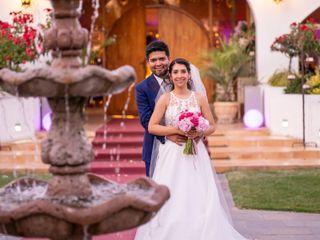 El matrimonio de Cynthia y Andrés