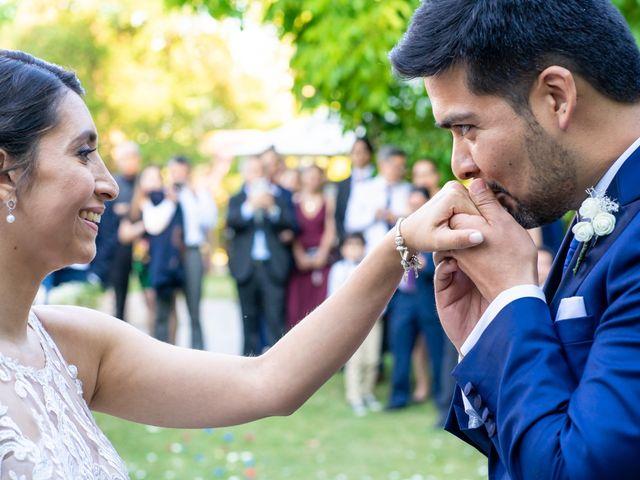 El matrimonio de Andrés y Cynthia en Talagante, Talagante 44