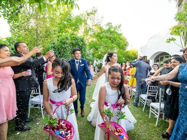 El matrimonio de Andrés y Cynthia en Talagante, Talagante 54