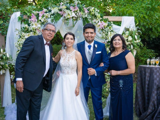 El matrimonio de Andrés y Cynthia en Talagante, Talagante 63