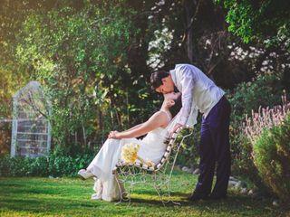 El matrimonio de Scarlet  y Sebastián  1