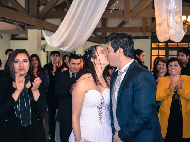El matrimonio de Evelyn y Carlos
