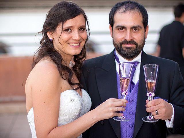 El matrimonio de Marcia y Jorge