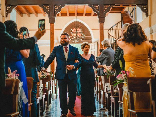 El matrimonio de Sebastián y Gisella en Pirque, Cordillera 37