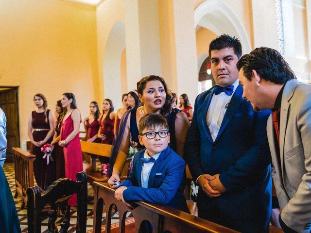 El matrimonio de Sebastián y Gisella en Pirque, Cordillera 45