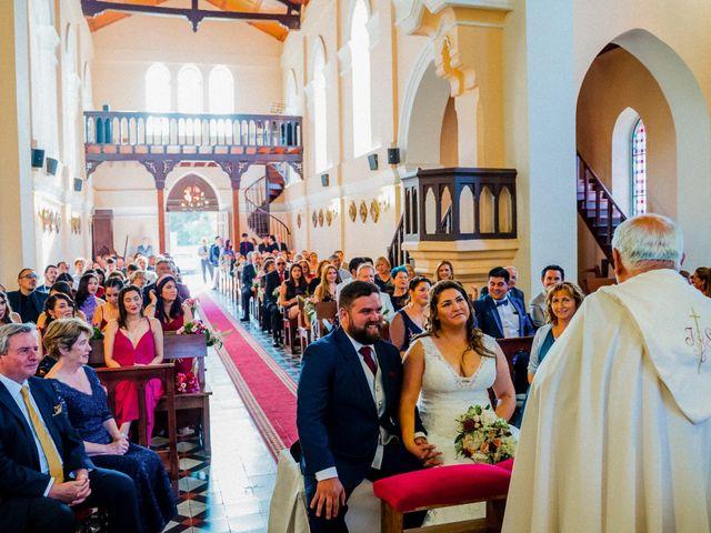 El matrimonio de Sebastián y Gisella en Pirque, Cordillera 56