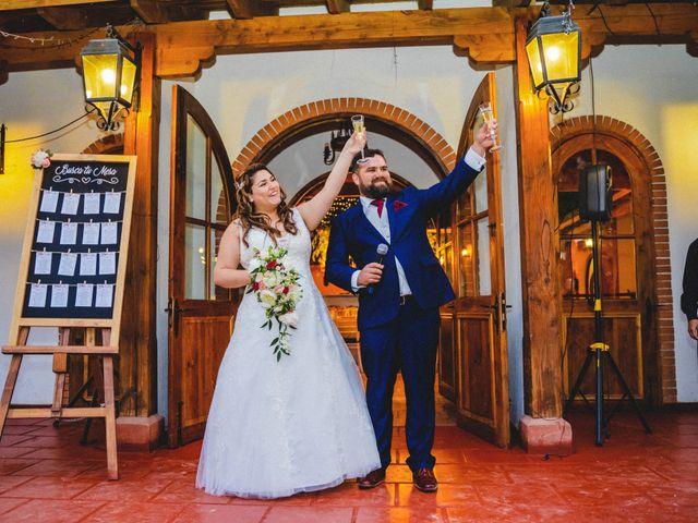 El matrimonio de Sebastián y Gisella en Pirque, Cordillera 101