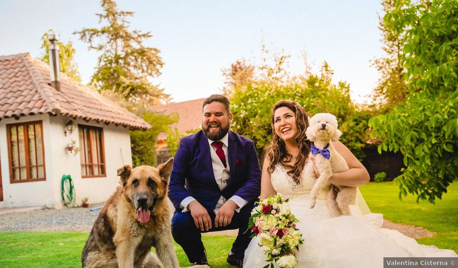 El matrimonio de Sebastián y Gisella en Pirque, Cordillera