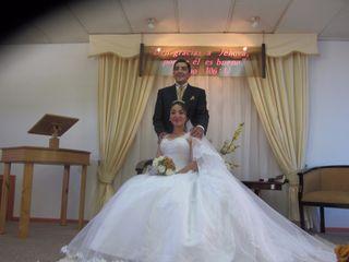 El matrimonio de Walter y Paulina