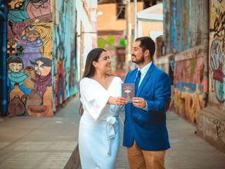 El matrimonio de Ximena y Alfredo
