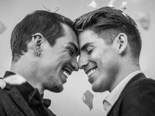 El matrimonio de Jattar y Jorge