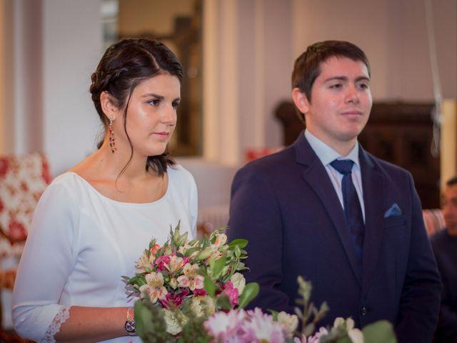 El matrimonio de Lorena y Tomás