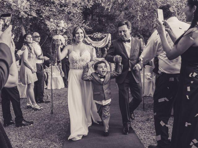 El matrimonio de Claudia y Francisco