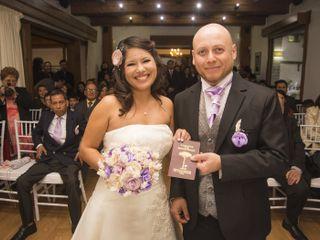El matrimonio de Fernanda y David