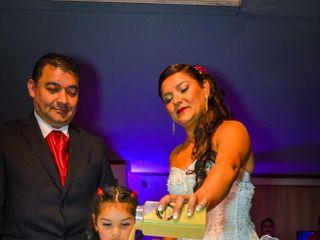 El matrimonio de Fabiola y David