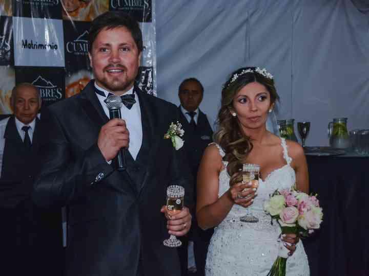 El matrimonio de Claudia y Claudio