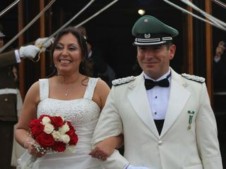 El matrimonio de Alejandra  y Christian