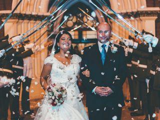 El matrimonio de Valeska y Freddy