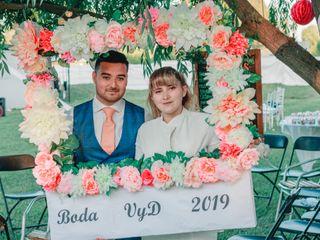 El matrimonio de Victoria y Diego