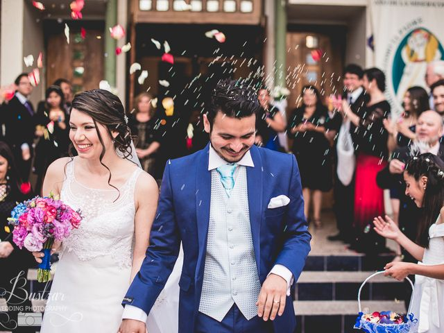 El matrimonio de Alexandra y Carlos