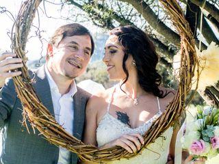 El matrimonio de Lorena y Saul