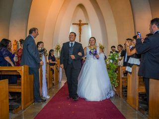 El matrimonio de Bárbara y Bastian