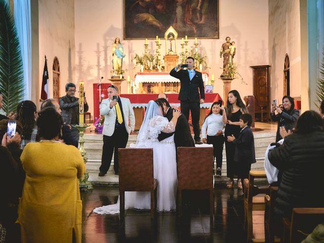 El matrimonio de Valeska y Marcos