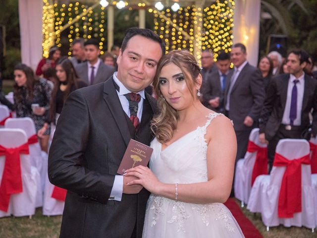 El matrimonio de María José y Héctor